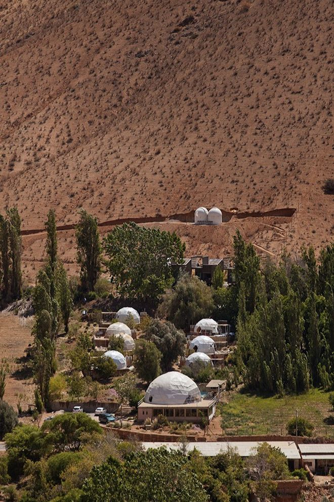 Stargazing hotel with its own observatory, Elqui Domos Hotel, Pisco Elqui, Chile