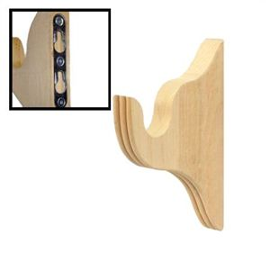 Wood Curtain Rods Curtain Rod Brackets And Curtain Rods On Pinterest