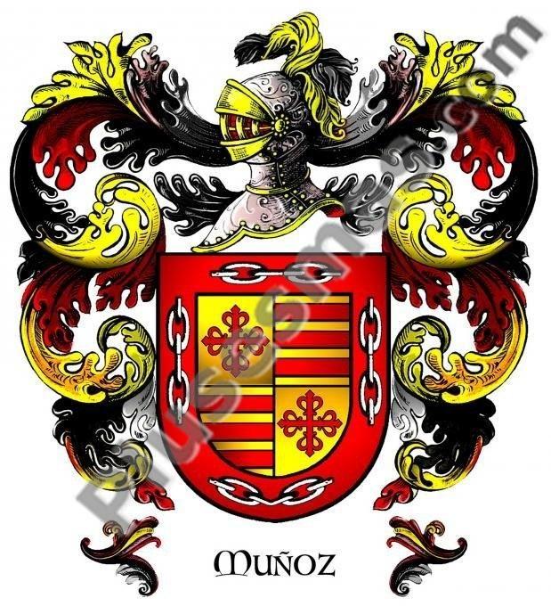 Escudo del apellido Muñoz