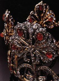 Romanov Lotus Flower tiara of Saxe-Coburg-Gotha