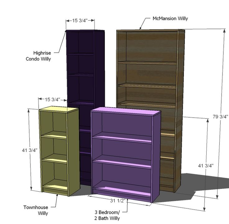 16 best bookshelf plans images on pinterest wood projects ana white build a willy bookcase in four sizes free and easy diy project solutioingenieria Images