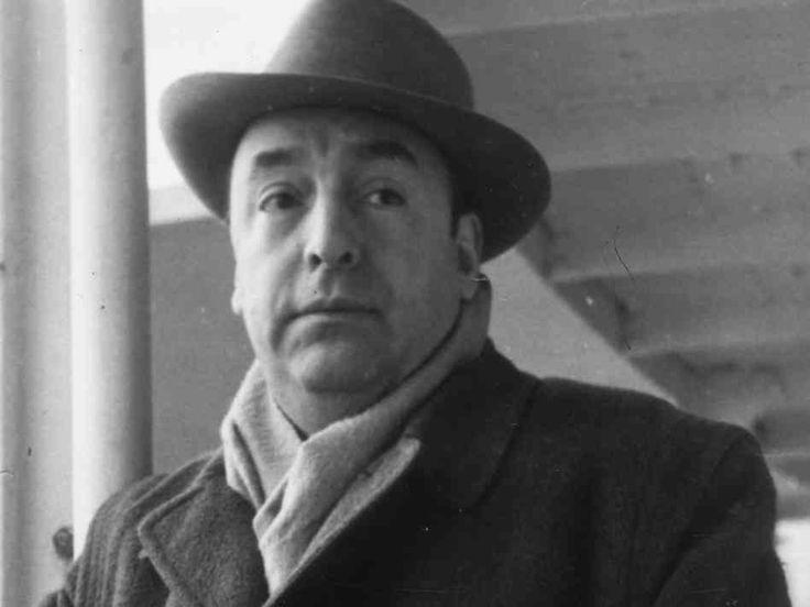 """Pablo Neruda's Spanish Civil War poetry, and especially hispoem """"Explico algunas cosas"""" gave me a manifesto on the passions of political poetry.  I was twelve."""