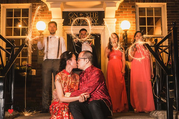 Early Spring Wedding | Inn on the Twenty | bride and groom sparklers wedding reception at the inn on the twenty