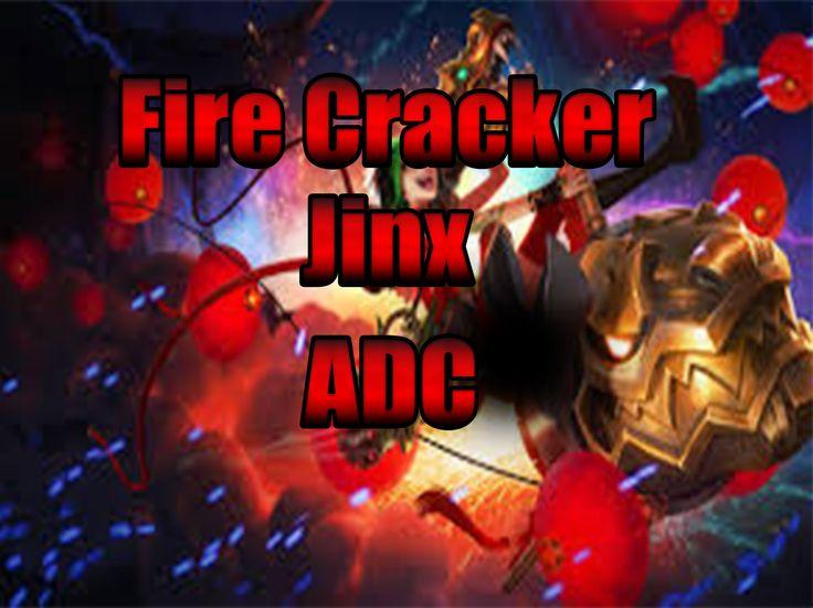 League of Legends Full Gameplay Firecracker Jinx ADC OP