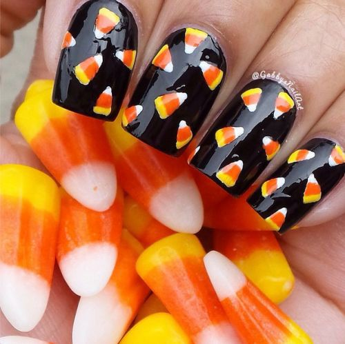 Check out this collection of Halloween candy corn nails art designs & ideas  of - 1040 Best Mi Coloro Le Unghie Images On Pinterest Cake Pop, Cake