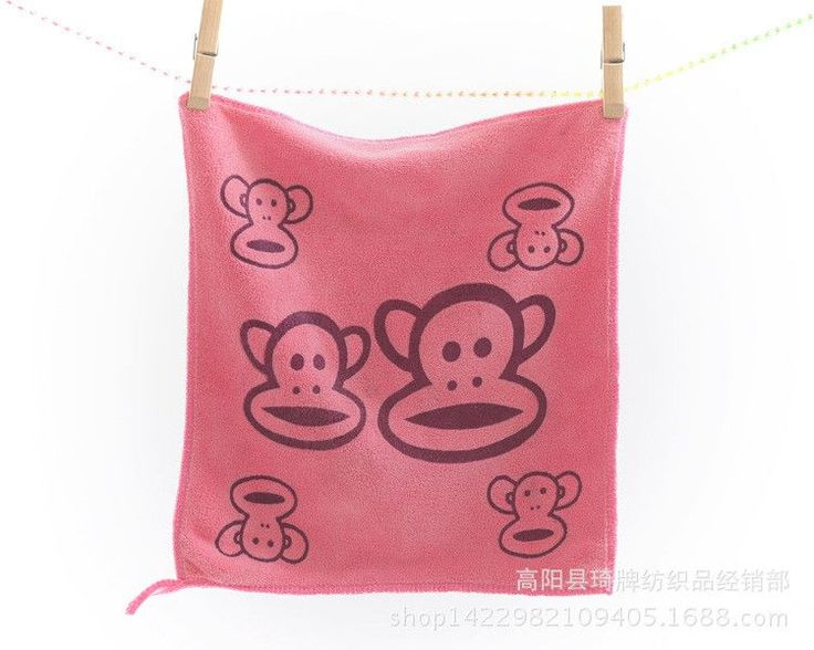 3 pcs/lot cute baby superfine fiber Gauze Towel Kid Bath Towels Washcloth Square Towel Children Kitchen Bathroom Wipe Wash Cloth