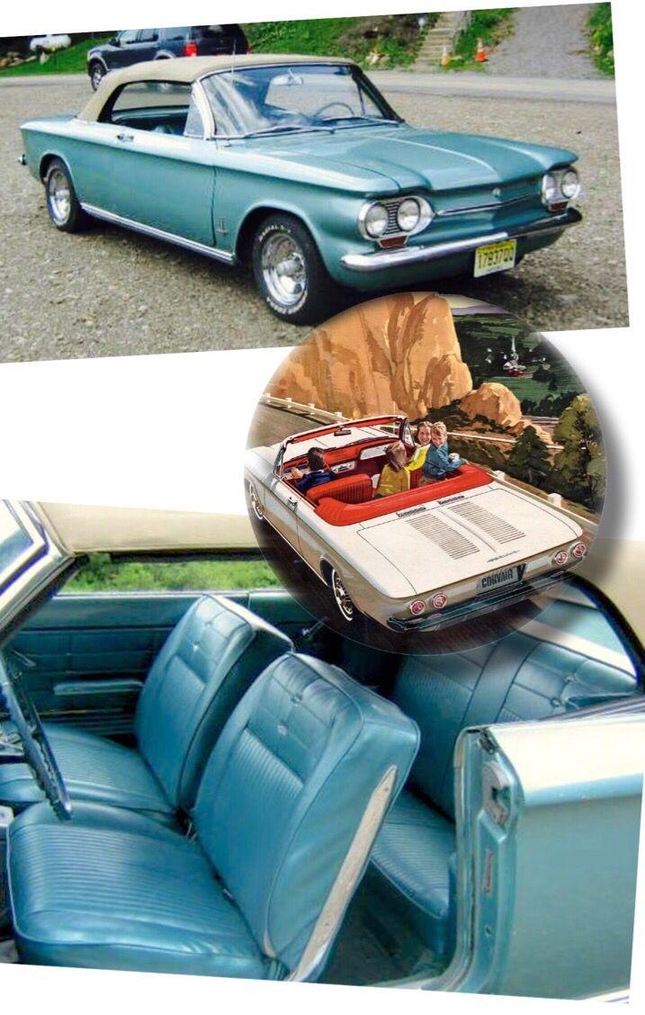 22,000 mi. '63 Corvair | $6,000 Craigslist (Holland NY ...
