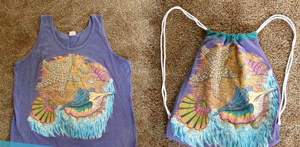 Tank Top to Beach Tote