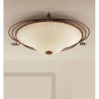 Klasyczny plafon z serii 4260 - producent Lam Export. #Lam_Export #4260 #włoskie_lampy #plafon #lampy_do_salonu #wyprzedaż #sale #lampy_kraków #abanet_kraków