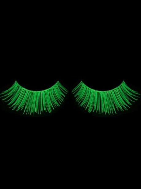 Eyelashes  bangle charm Glow in the dark bracelets Rave Rave single   Makeup Eyelashes and