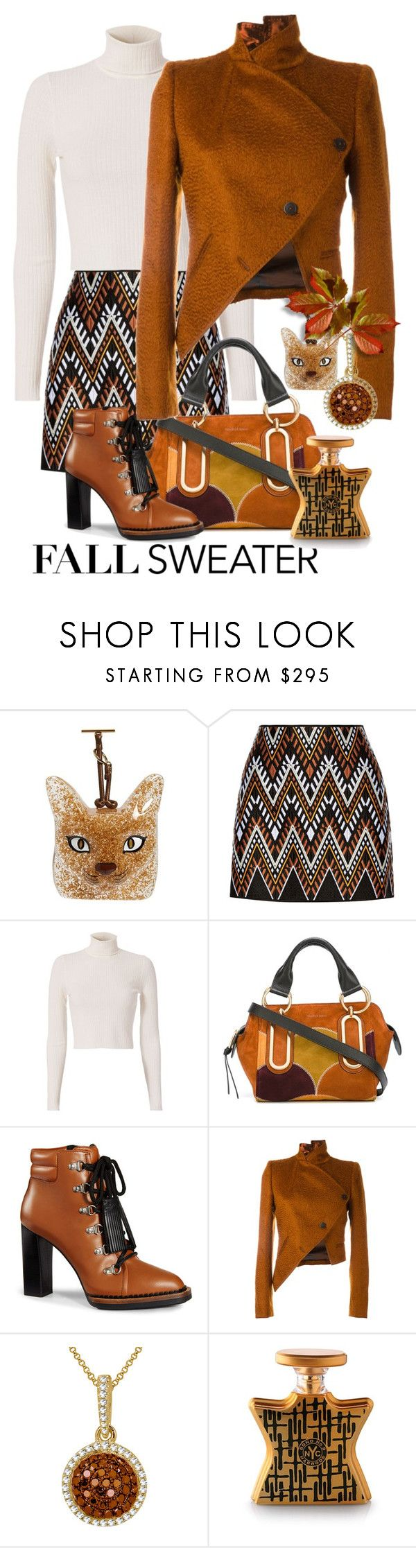 """""""Untitled #1384"""" by sunnydays4everkh ❤ liked on Polyvore featuring Loewe, DKNY, A.L.C., See by Chloé, Tod's, Ann Demeulemeester and Harrods"""