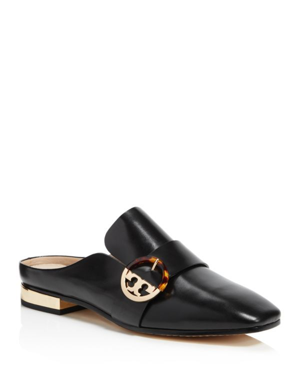 Tory Burch Sidney Leather Mules