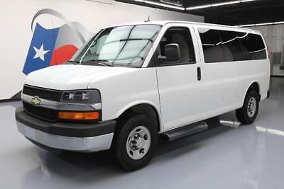 2015 Chevrolet Express Base Standard Cargo Van 3-Door 2015 CHEVY EXPRESS 2500 LT 10PASS VAN POOL REAR CAM 26k #140559 Texas Direct