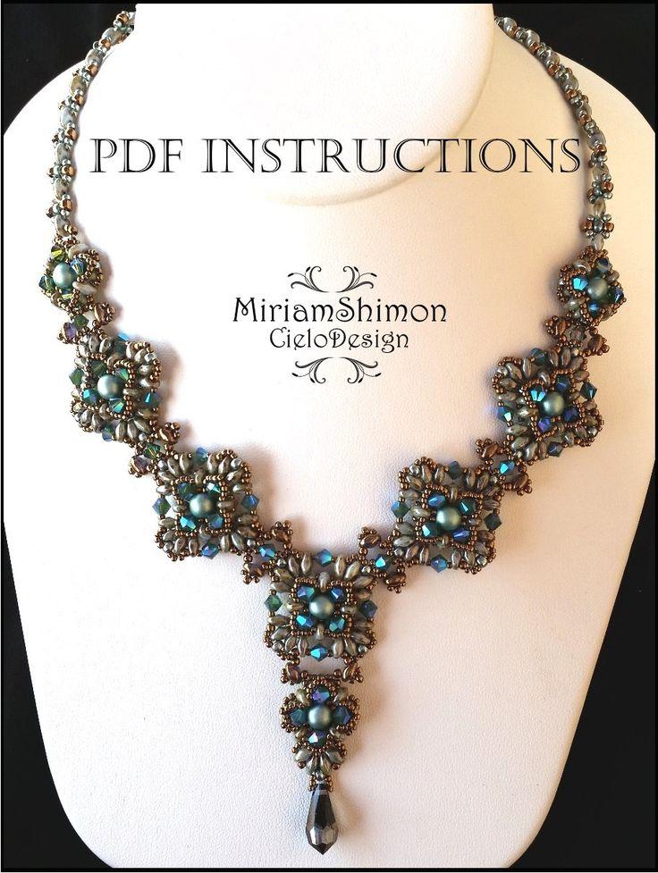 Collana di Atila Download immediato istruzioni in di MiriamShimon