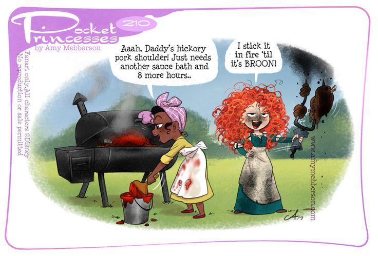 Pocket Princesses 210: Cookout  Please reblog, don't repost, edit or remove captions  Facebook - Instagram