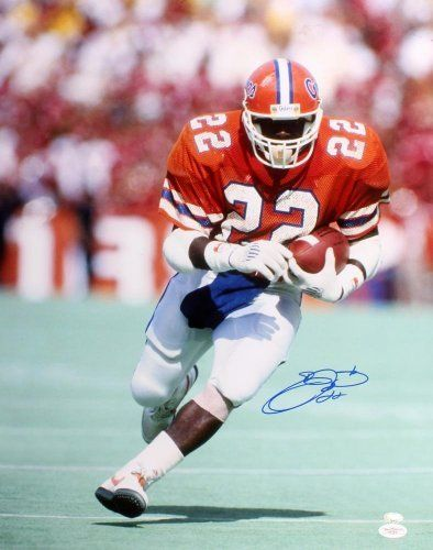 Emmitt Signed Florida Gators Photo - 16x20 - JSA Certified - Autographed College Photos by Sports Memorabilia. $115.00. Emmitt Signed Florida Gators Photo - 16x20 JSA. During his fifteen seasons in the NFL, Emmitt Smith became known as one of the best running backs of all time. Compare Smith's stats to anyone else and you'll see why collectors love pieces like this. Like every item on our site, this piece has passed our quality inspection. We provide authentic ...