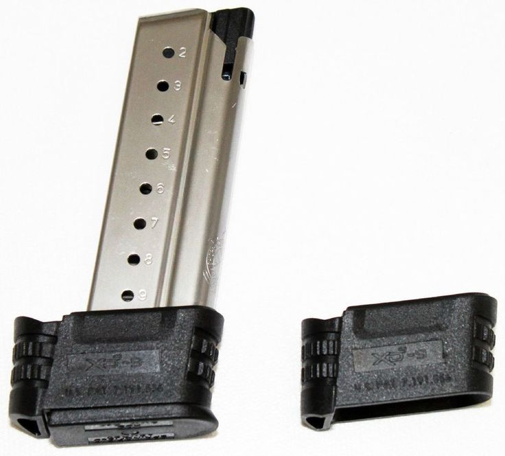 Factory Springfield Armory XDs 9mm 9 Round Extended Magazine - XDS09061 #SpringfieldArmory