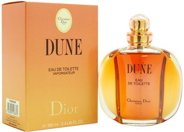 women christian dior dune edt spray 3.4 oz