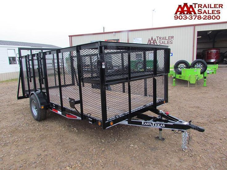 2017 Landscape Trailer Single Axle 77''x14' GVWR 4495
