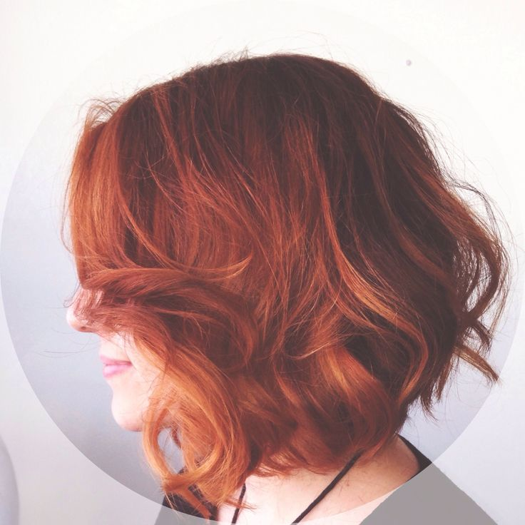 Apricot inspired Balayage for spring! Mid-length cut with slight graduation by Brooke Bowman at Lucid Salon in Lebanon, Ohio. Model: Lindsey Baker