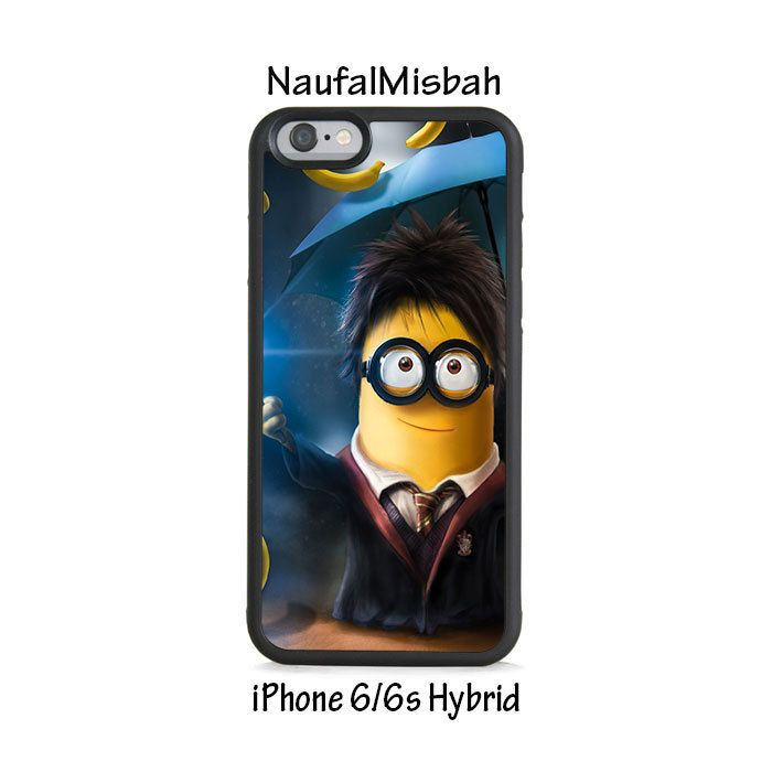 Harry Potter Despicable Me Minion iPhone 6/6s HYBRID Case Cover
