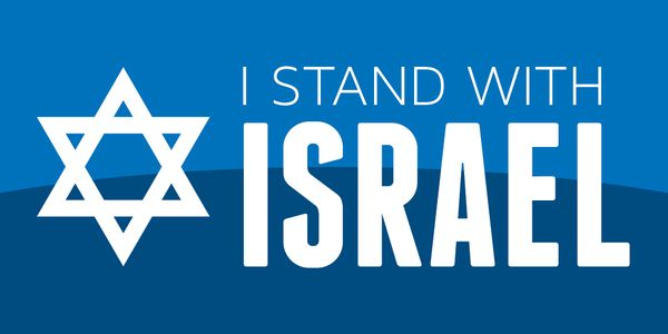 Say it proudly—I Stand With Israel.