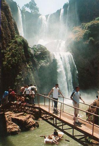 Cascate (Marocco) / Cascades d'Ouzoud waterfall (Morocco)  ❤ Reiseausrüstung mit Charakter gibt's auf vamadu.de