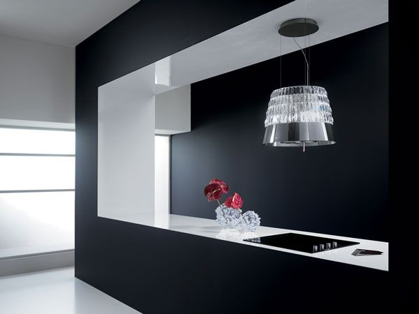 And the cook top never will be the same! Yeah!!!  Victoria New Innovation for Elegant Cooker Hoods by Elica