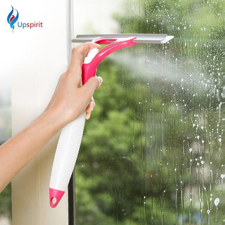 Hot Sale Sihir Semprot Jenis Sikat Pembersih Multifungsi Nyaman Kaca Cleaner Pembantu Yang Baik Bahwa Mencuci Jendela Mobil