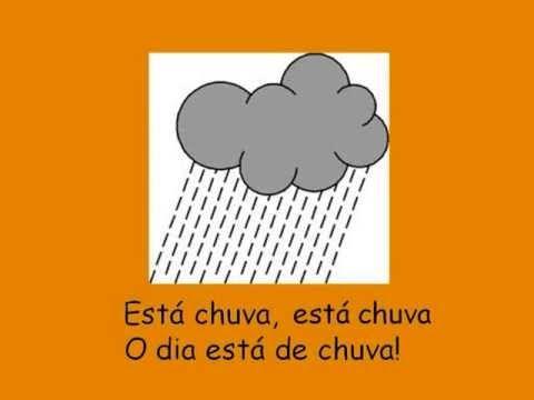 Músicas para o Jardim de infância - Estados do tempo - Chuva