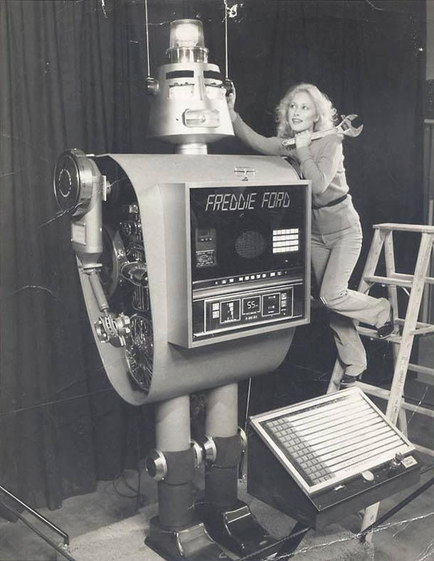 Freddie Ford, the Robot
