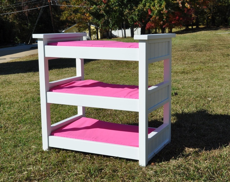 Triple bunk beds for girl : Doll triple bunk beds woodworking projects plans