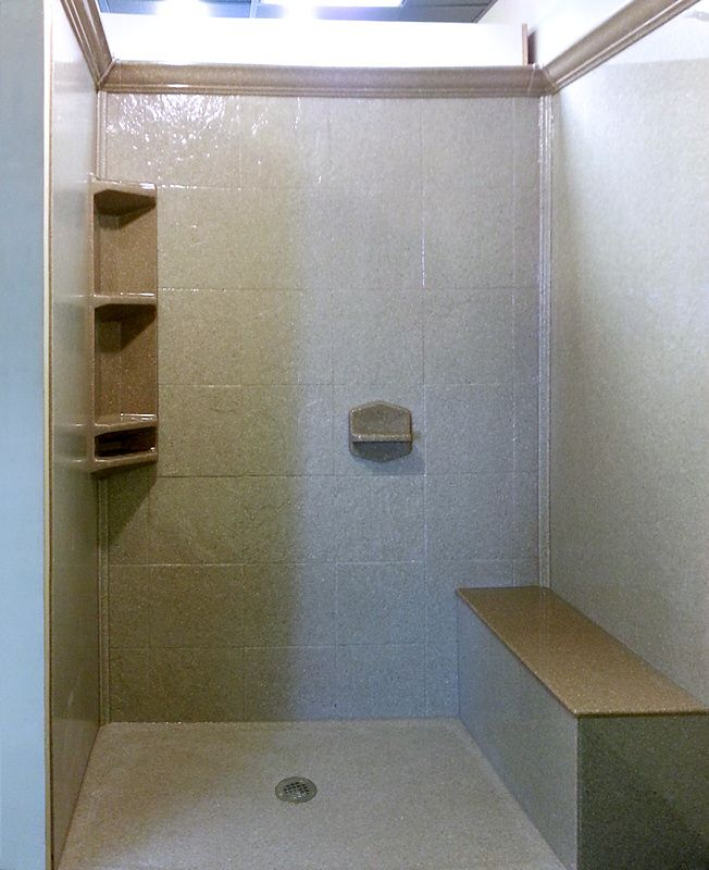 17 best images about bathroom shower base pan onyx - Walk in shower base kit ...