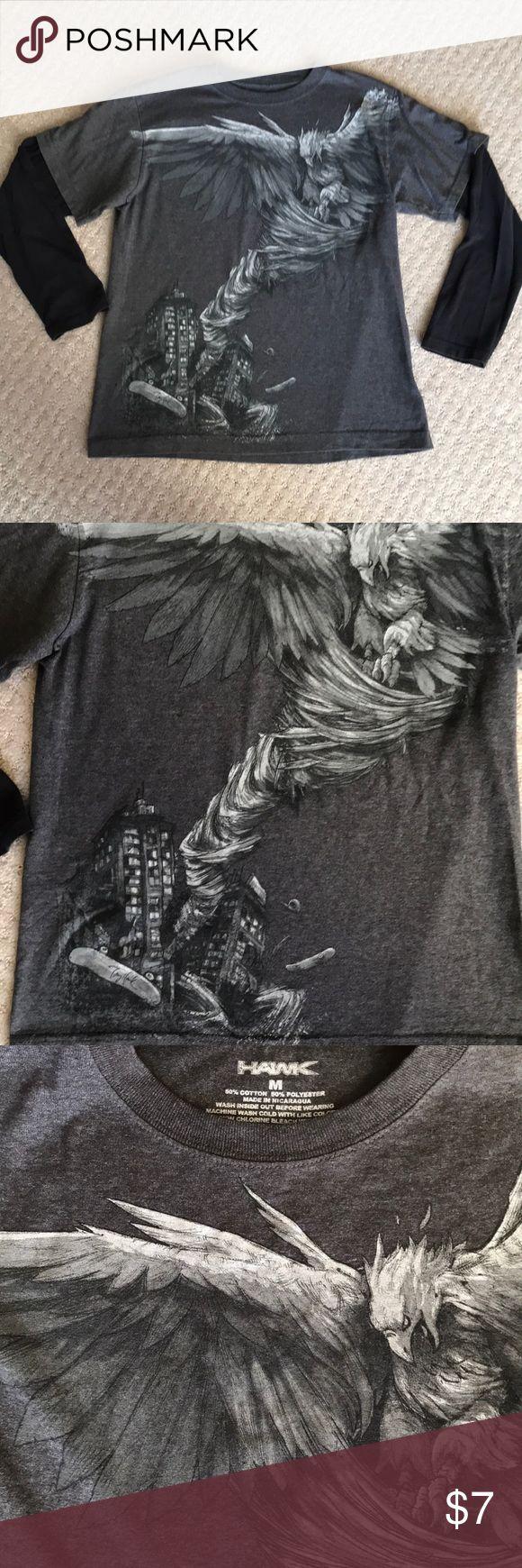 Tony Hawk Boys Long Sleeve Tee Size Med Tony Hawk Long Sleeve Tee Size med.. I'd say number Size 10/12 Shirts & Tops Tees - Long Sleeve
