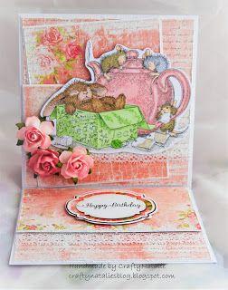 CraftyNatalie's Blog!: House Mouse: Chamomile Tea Easle
