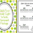 Turn these pages into a simple homework package for your students so they can learn the Dolch Grade One words at home.    Want all 5 Dolch homework p...
