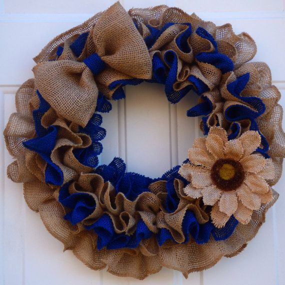 Spring Wreath for Front Door/Spring Wreath/Spring Burlap Wreath/Spring Door Wreath/Burlap Wreath/Easter Burlap Wreath/Summer Wreaths by oneofakindwreath. Explore more products on http://oneofakindwreath.etsy.com