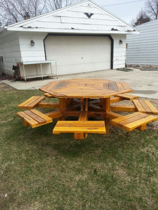 Octagon Picnic Table Designs Woodworking Projects Amp Plans