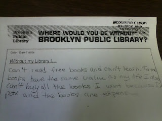 A Children's Librarian in New York writes this blog, Screwy Decimal.