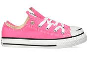 Roze Converse kinderschoenen All Star OX gympen