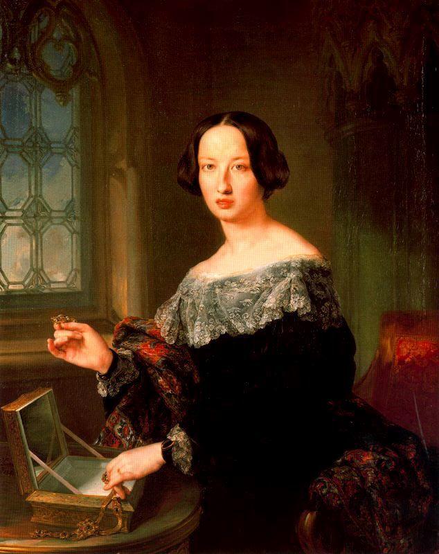 Dionisia O'Lawor y Caballete, duquesa de Vistahermosa. Vicente López y Portaña. 1842