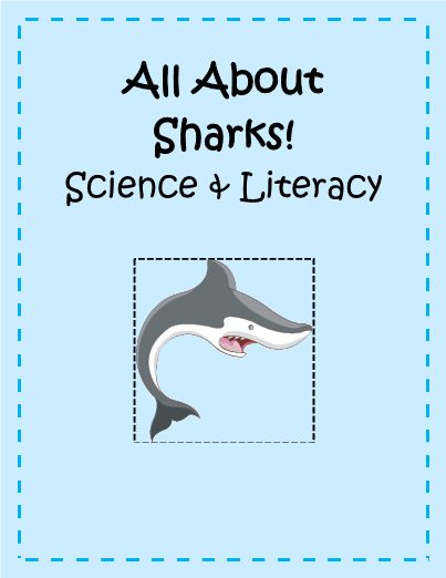 This Science & Literacy Unit explores the world of sharks by going through their adaptations, 6 of the most common types of Sharks, 10 most popular Fact/Fiction, a Shark Attack Graphing Activity, Shark Word Scramble, and a Shark story starter! Super Shark Fun!  #freeprintables #TeacherSherpa