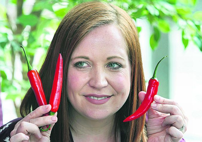 """Nicola Lavin, whose Chilli Challenge idea for creating awareness of ME, is set to go global. """"It is extreme exhaustion,"""" she says of how it affected her. """"You have no energy to feed yourself, you can't stand up, you can't brush your teeth. You are freezing all the time and the muscle pain is constant."""" Photo: Joe O'Shaughnessy."""