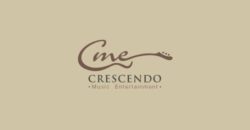 8: Cine Crescendo, Design Ideas, Logos Design Inspiration 24, Crescendo Logos, Logos Inspiration, Combinations Logos, Creative Logos, Crescendo Music, Branding Ideas