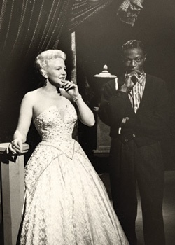 Peggy Lee and Nat King Cole.