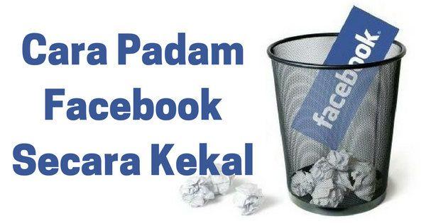 Delete Akaun Facebook