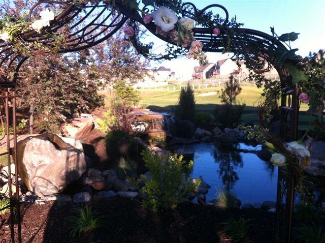 Garden Near The Green Wedding Venue Eagle Mountain Utah U T A H E V E N T W E D D I N