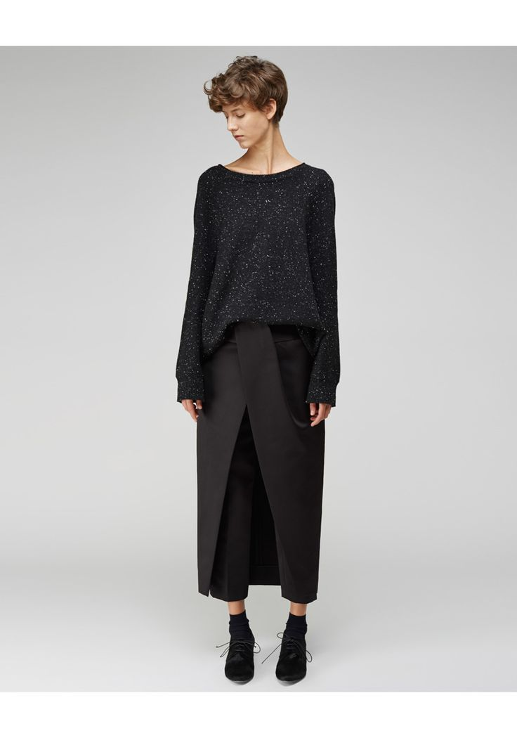 Alexander Wang / Front Tucked Skirt Pant | La Garçonne