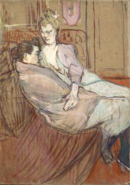 The National Gallery Henri de Toulouse-Lautrec | The Two Friends | L731 | The National Gallery, London
