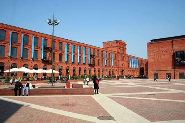 Fabryka Poznańskiego, Manufaktura, Łódź